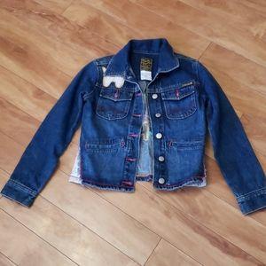 Lucky brand girls jean jacket